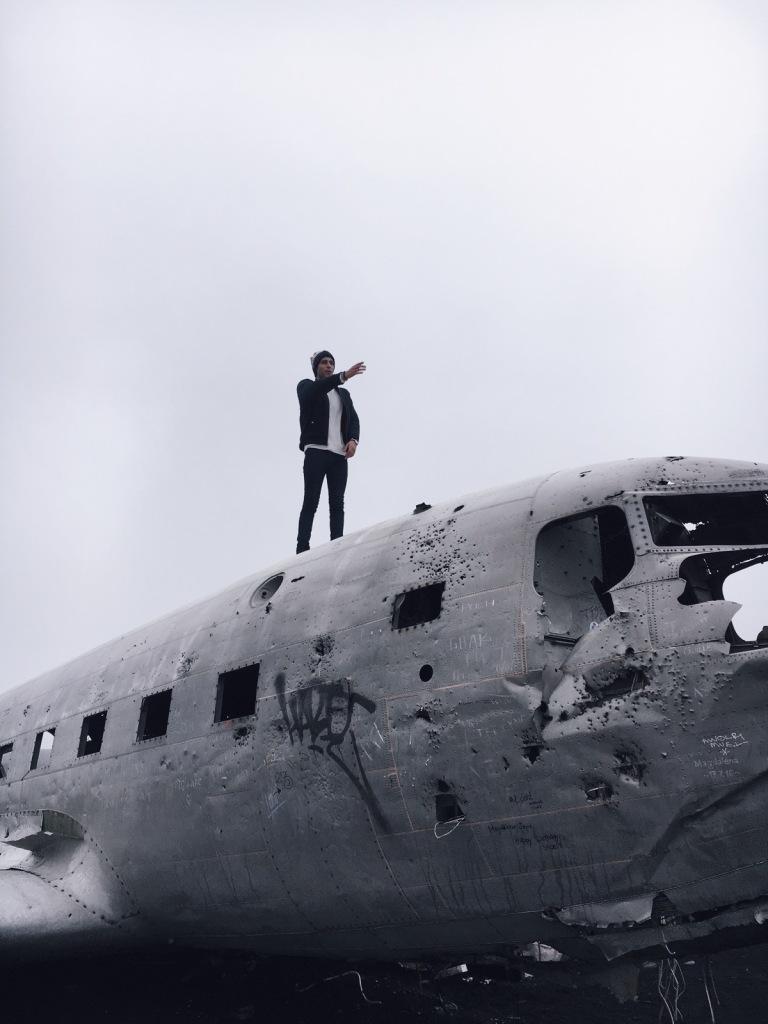 US Navy Sólheimasandur
