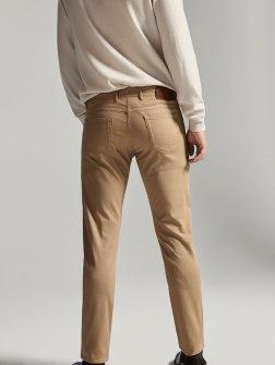 Faux jean texturé de la marque Massimo Dutti