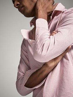 Chemise à rayures de la marque Massimo Dutti