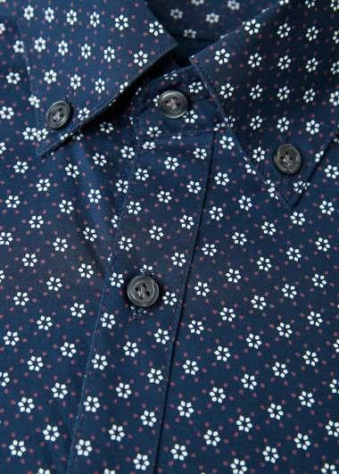 """Chemise à motif """"floral"""" de la marque Mango"""