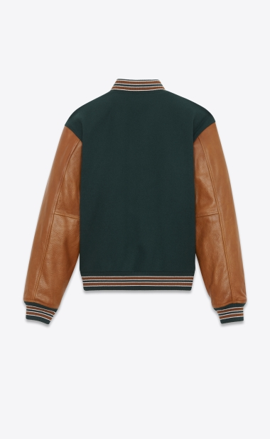 Blouson teddy Yves Saint-Laurent