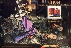 le Parfum Opium d'Yves Saint Laurent