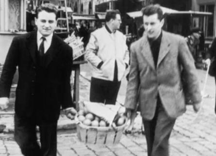 Pierre Bergé et Bernard Buffet