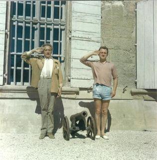 Pierre Bergé et Jean Cocteau