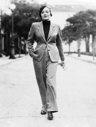 Marlene Dietrich - Pantalon