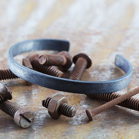 Bracelet noir Carpe Diem