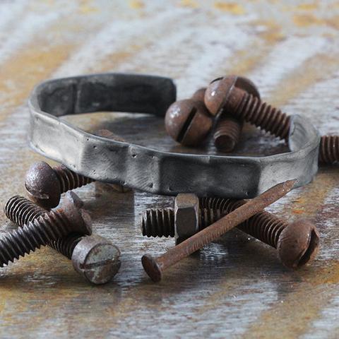 bracelet argent noir Carpe Diem